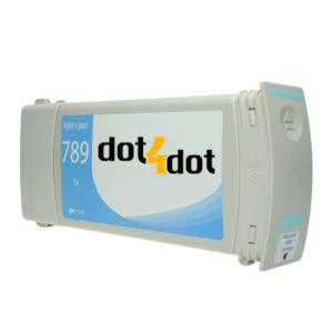dot4dot HP 789 Latex Light Cyan CH619A