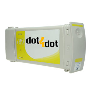 dot4dot HP 789 Latex Yellow CH618A