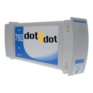 dot4dot HP792 Cyan