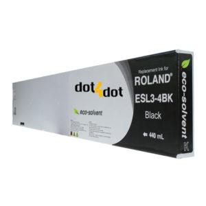 dot4dot Roland-Eco-Sol-Max-440mL-Black