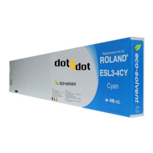 dot4dot Roland-Eco-Sol-Max-440mL-Cyan