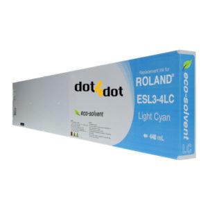 dot4dot Roland-Eco-Sol-Max-440mL-Light-Cyan
