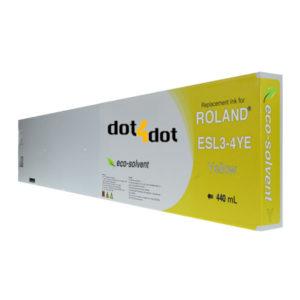 dot4dot Roland-Eco-Sol-Max-440mL-Yellow