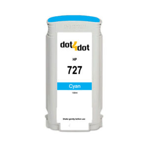 Dot4Dot HP 727 Cyan Ink Cartridge
