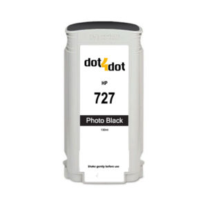 Dot4Dot HP 727 Photo Black Ink Cartridge