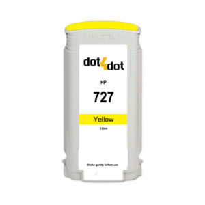 Dot4Dot HP 727 Yellow Ink Cartridge