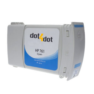 Dot4Dot HP 761 Cyan Ink Cartridge