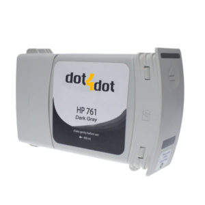 Dot4Dot HP 761 Dark Gray Ink Cartridge