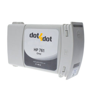 Dot4Dot HP 761 Gray Ink Cartridge