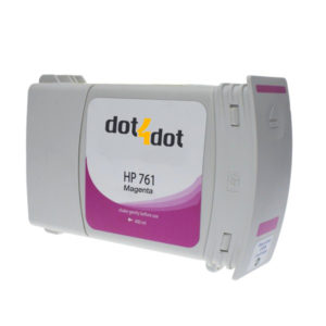 Dot4Dot HP 761 Magenta Ink Cartridge