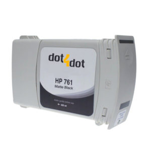 Dot4Dot HP 761 Matte Black Ink Cartridge