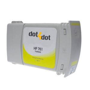 Dot4Dot HP 761 Yellow Ink Cartridge
