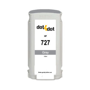 Dot4Dot HP 727 Gray Ink Cartridge