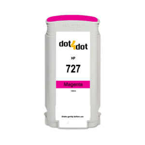 Dot4Dot HP 727 Magenta Ink Cartridge