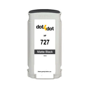 Dot4Dot HP 727 Matte Black Ink Cartridge