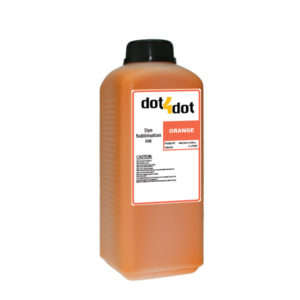 Dye Sublimation Ink Orange