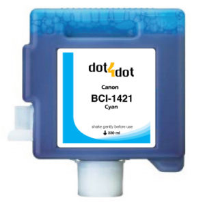 Dot4Dot Canon imagePROGRAF W8x Series Cyan Cartridge