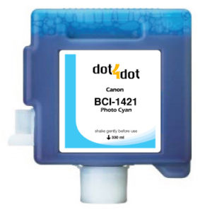 Dot4Dot Canon imagePROGRAF W8x Series Photo Cyan Cartridge