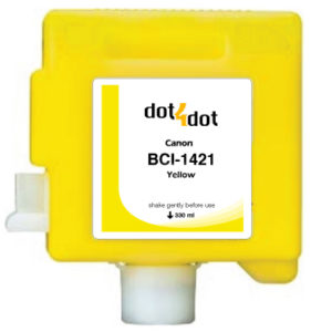 Dot4Dot Canon imagePROGRAF W8x Series Yellow Cartridge