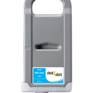 Dot4Dot Canon imagePROGRAF PFI-701 Cyan Cartridge
