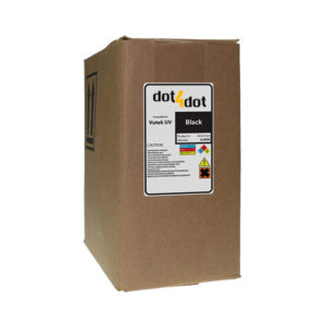 Dot4Dot Vutek UV Cure Black Ink 3L