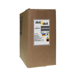Dot4Dot Vutek UV Cure Light Black Ink 3L