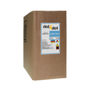 Dot4Dot Vutek UV Cure Light Cyan Ink 3L