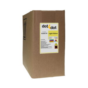 Dot4Dot Vutek UV Cure Light Yellow Ink 3L