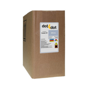 Dot4Dot Vutek UV Cure White Ink 3L