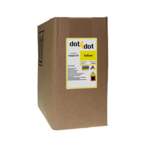 Dot4Dot Vutek UV Cure Yellow Ink 3L