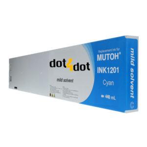 dot4dot INK1201-440mL-Cyan
