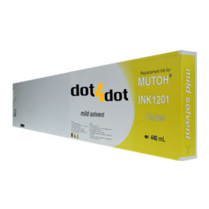 dot4dot INK1201-440mL-Yellow
