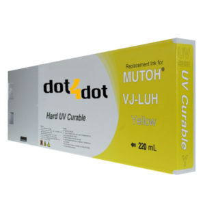 dot4dot Mutoh UV Yellow