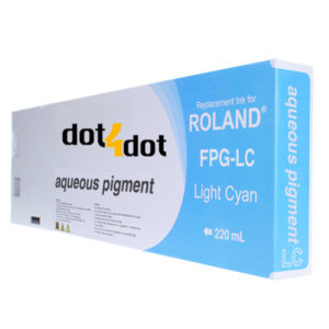 dot4dot Roland-Aqueous-Pigment-Light-Cyan